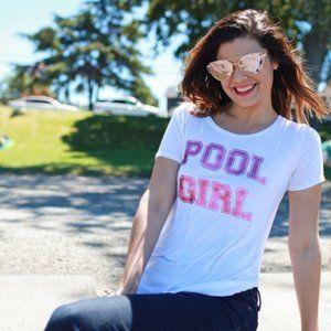 Pool Girl Flowy Tee